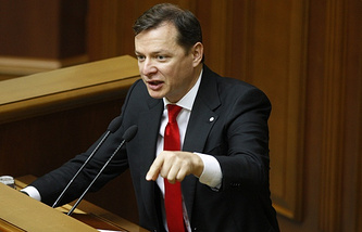 Ukraine's Radical Party leader, Oleh Lyashko
