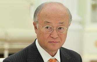 Director General of the International Atomic Energy Organisation (IAEA) Yukiya Amano