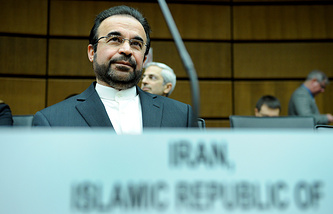 Iran's ambassador to the IAEA (International Atomic Energy Agency) Reza Najafi