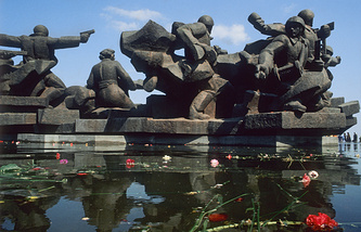 Memorial complex in Ukrainian State museum of the history of the Great Patriotic War