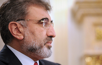 Turkish Minister of Energy and Natural Resources Taner Yildiz