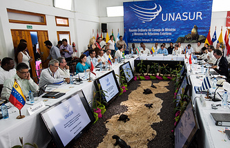 UNASUR Summit in Galapagos (archive)