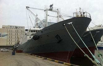 Oryong-501 trawler