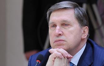 Russian presidential aide Yury Ushakov