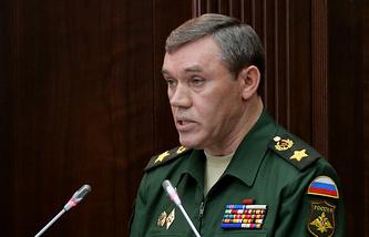 Сhief of the General Staff, Valery Gerasimov