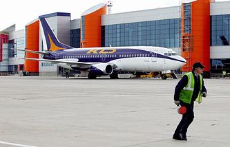 Khrabrovo airport in Kaliningrad