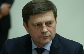 Head of Russian Federal Space Agency (Roscosmos) Oleg Ostapenko
