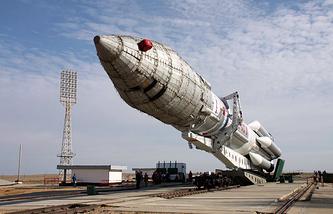 Proton carrier rocket