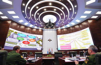 Russia's National Defense Control Center