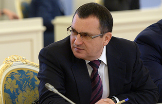 Russia's Agriculture Minister Nikolay Fyodorov