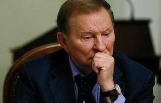 Ukrainian president Leonid Kuchma