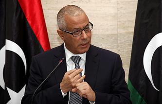 Former Prime Minister of Libya Ali Zeidan