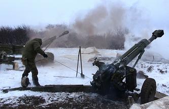 Militia fighing in eastern Ukraine