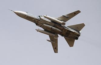 Su 24 aircraft