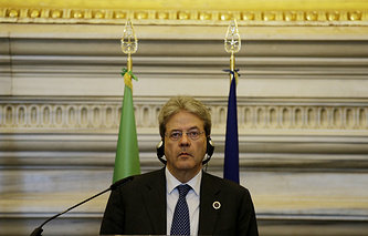 Italy's Foreign Minister Paolo Gentiloni (archive)