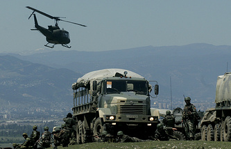 NATO military drills in Georgia, 2009