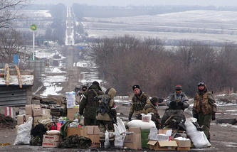 Donetsk republic soldiers