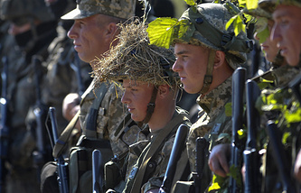 NATO military drills in Ukraine