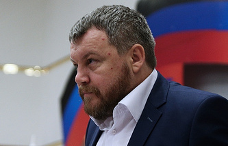Parliament speaker of the self-proclaimed DPR Andrey Purgin