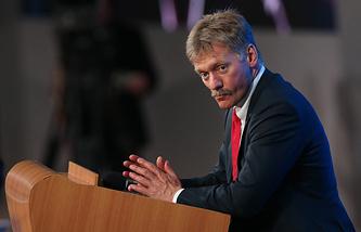 President Vladimir Putin's spokesman Dmitry Peskov