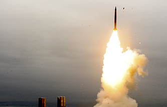 S-300 air defense system fired