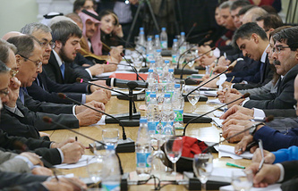 The first round of Moscow consultations, Jan.28