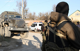 Special forces in Dagestan (archive)