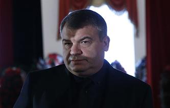 Russia's ex-defense minister Anatoly Serdyukov