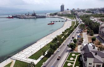 A view of Novorossiysk