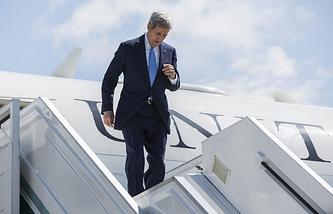 US State Secretary John Kerry in Sochi
