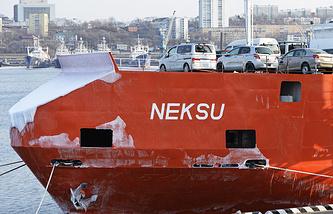 Russian port of Vladivostok