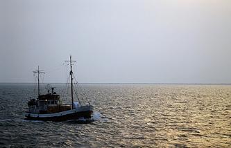 The Caspian Sea (archive)