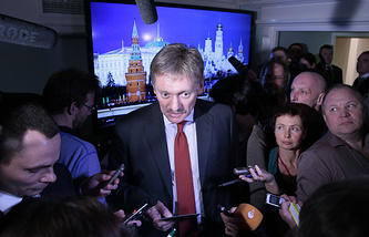Vladmir Putin's press secretary Dmitry Peskov
