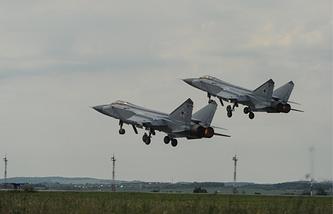 Russian warplanes (archive)