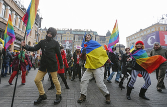 Gay parade in Kiev (archive)