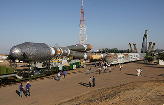 Soyuz-2.1a space rocket