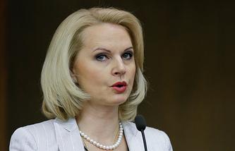 Russia's Accounts Chamber Chairwoman Tatyana Golikova