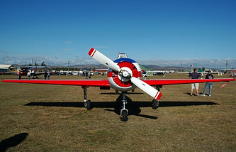 Yak-52 plane
