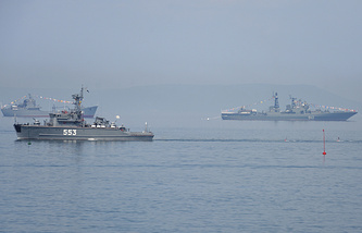 Russian minesweepers (archive)