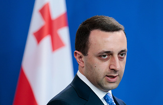 The Prime Minister of Georgia Irakli Garibashvili