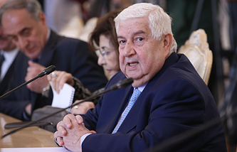 Syrian Foreign Minister Walid Moualem