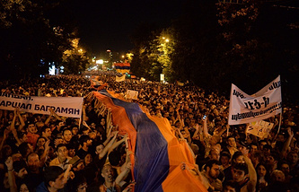 Protests in Yerevan