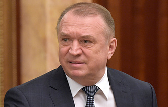 President of the Russian Chamber of Commerce and Industry Sergey Katyrin