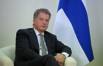 President of FInland Sauli Niinisto