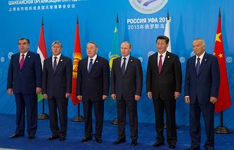 SCO heads of states