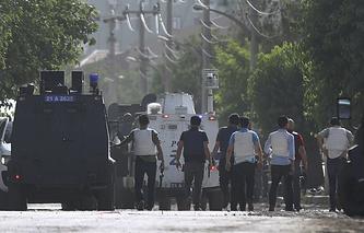 Police in Diyarbakir (archive)