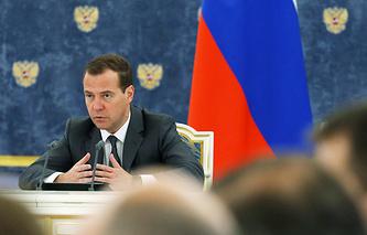 Prime Minister Dmitry Medvedev