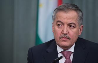 Tajikistan's Foreign Minister Sirodzhidin Aslov
