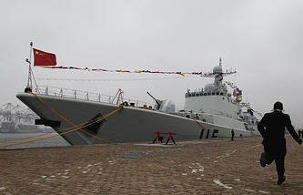 Shenyang missile destroyer