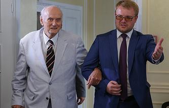 Prince Dimitri Romanov and Dmitry Polonsky